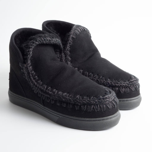 MOU - Eskimo black ankle boot