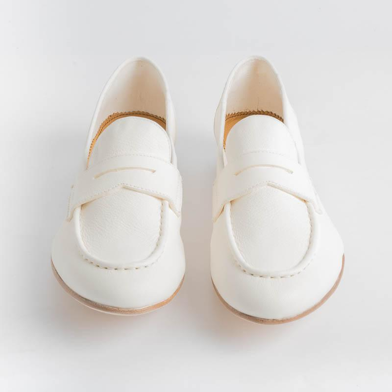 STURLINI - Moccasin AR-31003 - Dolly Deer White Shoes Woman STURLINI