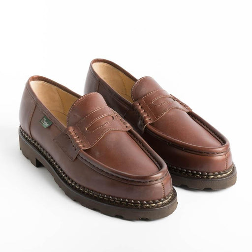 PARABOOT - 099043 - REIMS / MARCHE - Lis Marron Paraboot Men's Shoes