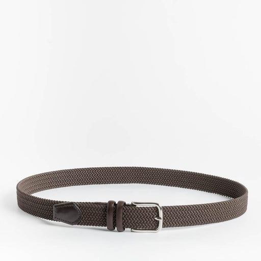 CAPPELLETTOSHOP - Belt in stretch fabric - Brown Men's Accessories CAPPELLETTO 1948 - Men's Collection
