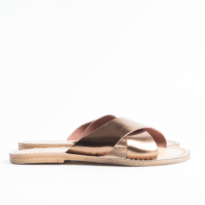 SACHET - Continuativo - Slipper - Freetime - 560 - Bronze Women's Shoes SACHET