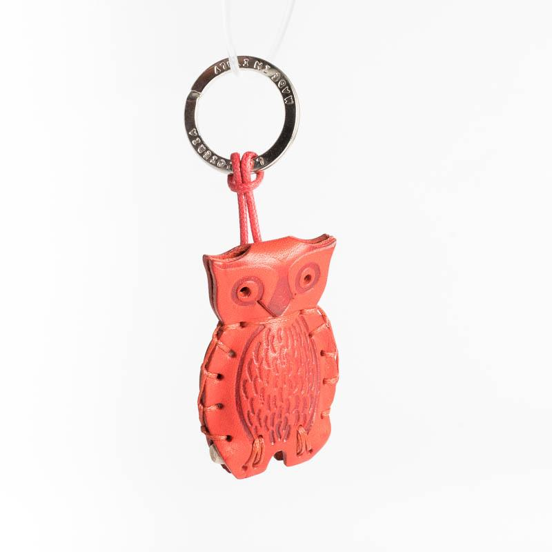 Cappelletto 1948 - Keychain - Owl Women's Accessories CappellettoShop Red