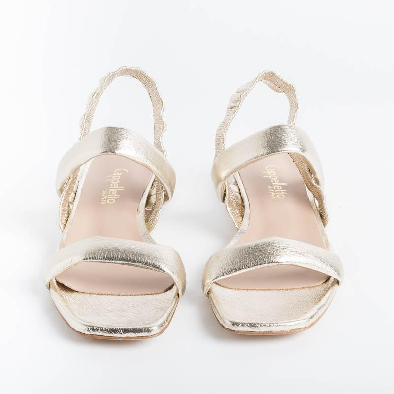 Cappelletto 1948 - Helena9 Sandal - Champagne Women's Shoes CAPPELLETTO 1948