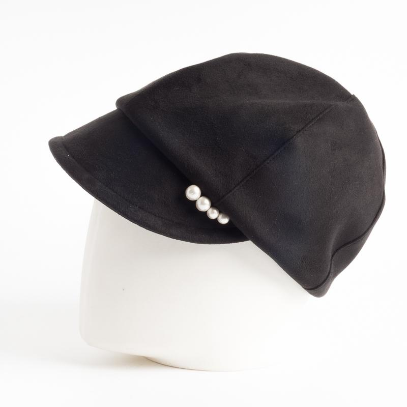CA4LA - Jolly Flat Cap - Black Women's Accessories CA4LA
