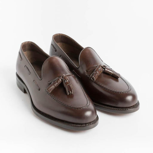 BERWICK 1707 - 5139 - Moccasin - Dark Brown Leather Men's Shoes Berwick 1707