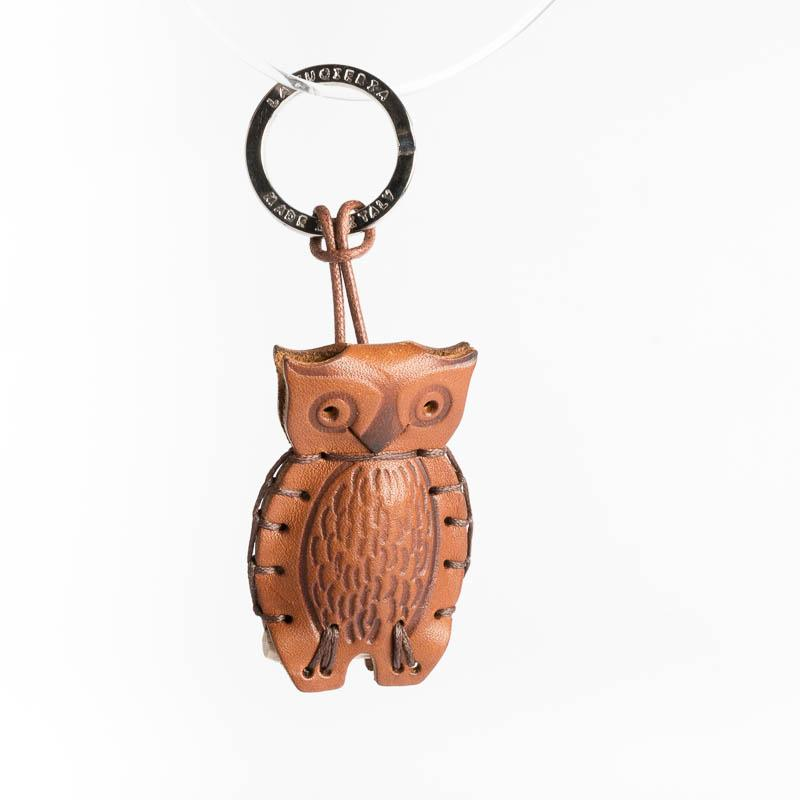 Cappelletto 1948 - Keychain - Owl Women's Accessories CappellettoShop Leather