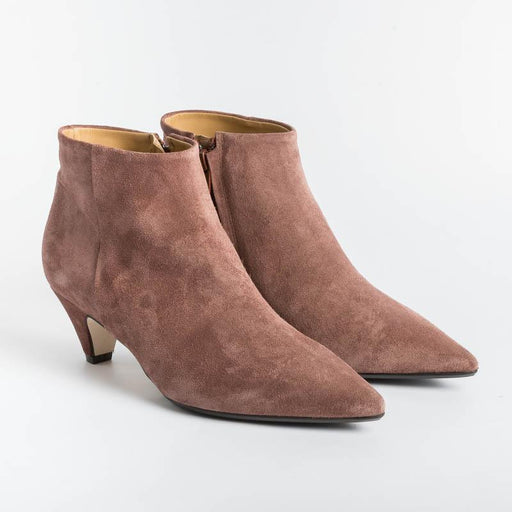 ANNA F - Ankle boot - 9645 - Velor Corten Women's Shoes Anna F.