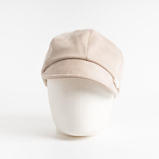 CA4LA - Jolly Flat Cap - Beige Women's Accessories CA4LA