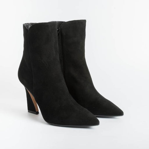 ANNA F - Ankle boot - 9694 - Black Suede Women's Shoes Anna F.