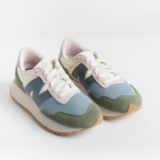 NEW BALANCE - Sneakers WS237MP1 - Green Pink Women's Shoes NEW BALANCE - Women's Collection