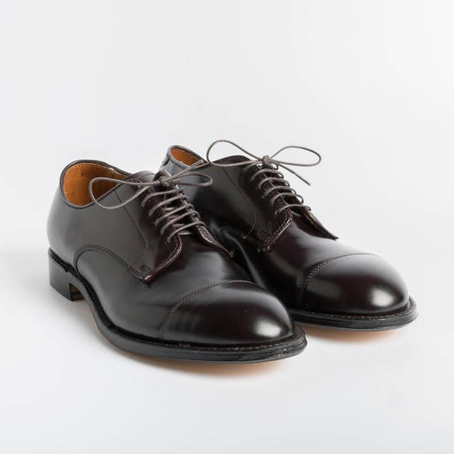 Copy of ALDEN - 5666 - Derby Modified (Ergonomica) - Cordovan Color 8 - Call to buy Alden Men's Shoes