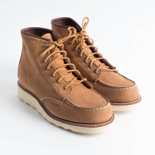 RED WING - 3372 Moc Toe Honey Nabuck Scarpe Donna Red Wing Shoes