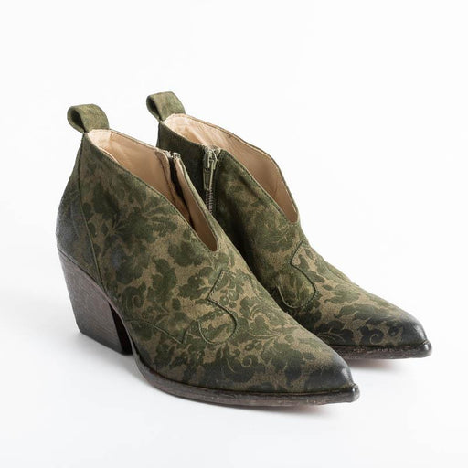 ELENA IACHI - Texan E2864 - Green Geisha Women's Shoes Elena Iachi