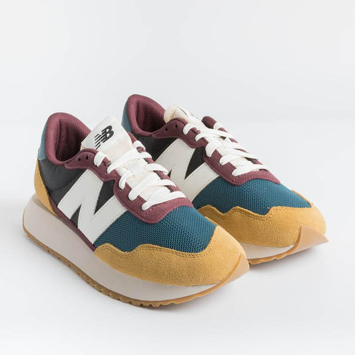 NEW BALANCE - Sneaker MS237 HR1 - Teal Yellow Men's Shoes NEW BALANCE - Men's Collection