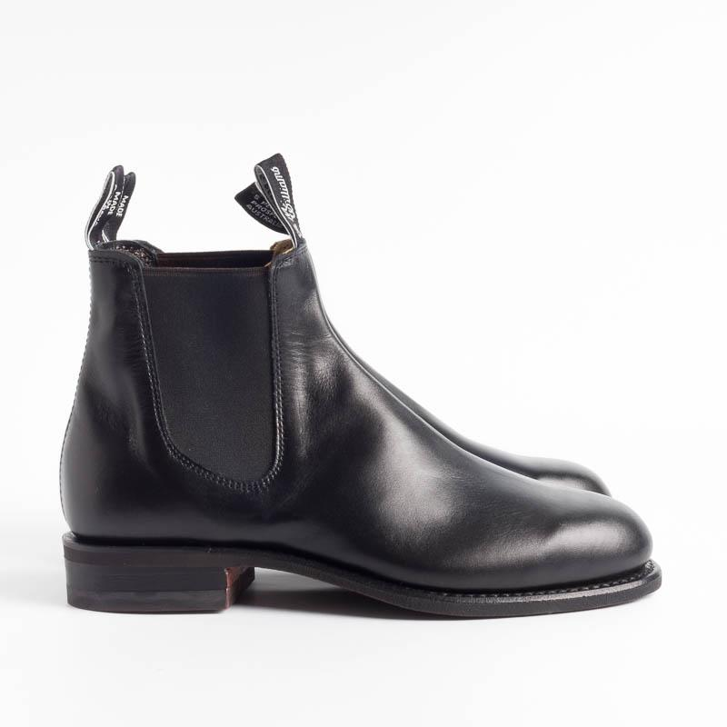 R.M. WILLIAMS - Comfort Turnout - Black Scarpe Uomo R.M. WILLIAMS