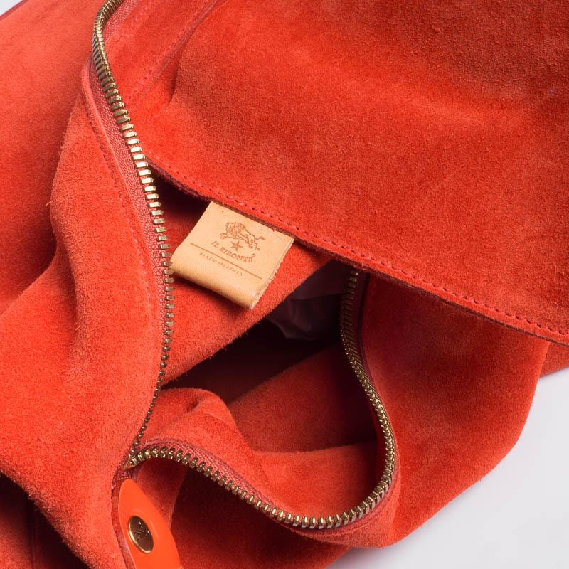 IL BISONTE - A2892 - Shoulder Bag - Orange Bags Il Bisonte