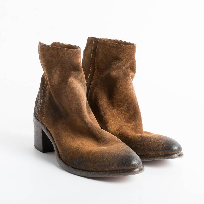 STRATEGIA - Ankle boot A4574 - Hazelnut Wash Shoes Woman Strategy