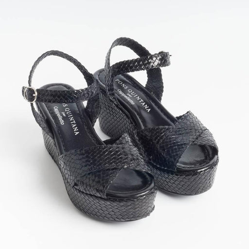 PONS QUINTANA - Sandals ALICIA 8572 - Negro Woman Shoes PONS QUINTANA