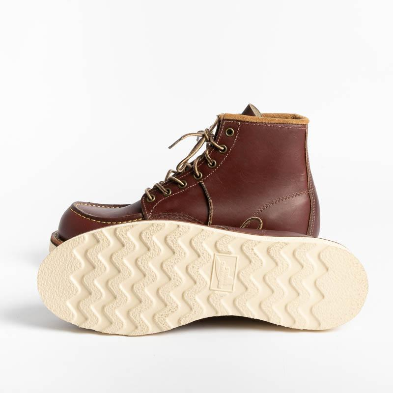 RED WING - Moc Toe 08856 - Oxblod Men's Shoes Red Wing Shoes
