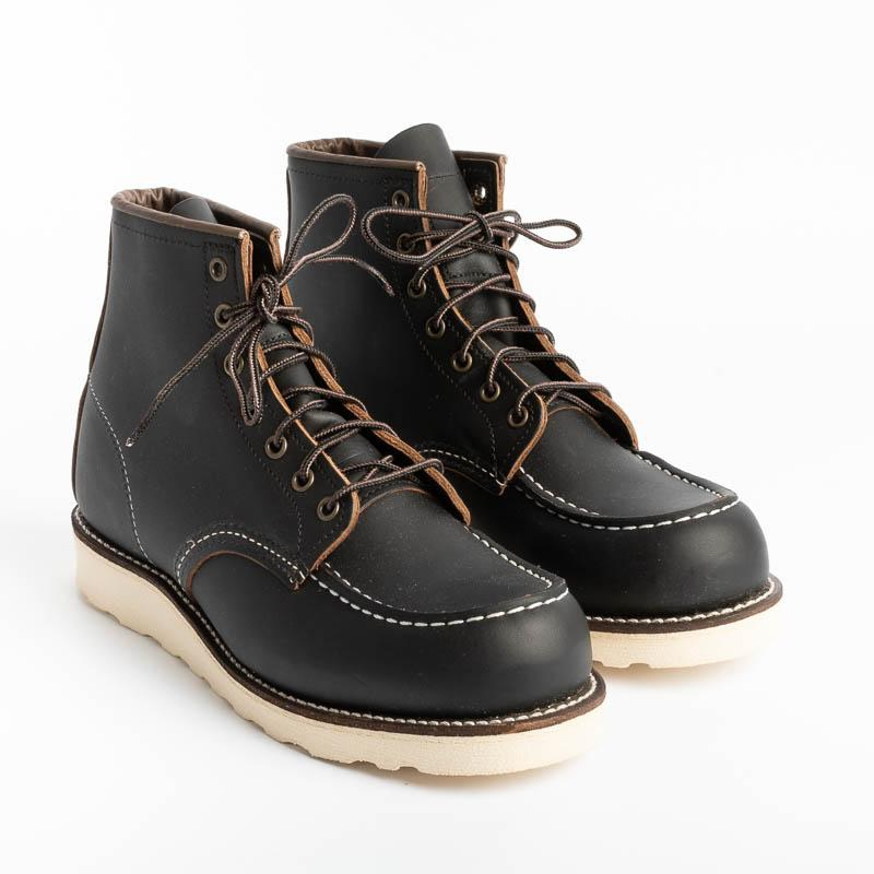 RED WING - Moc Toe 08849 - Black Scarpe Uomo Red Wing Shoes