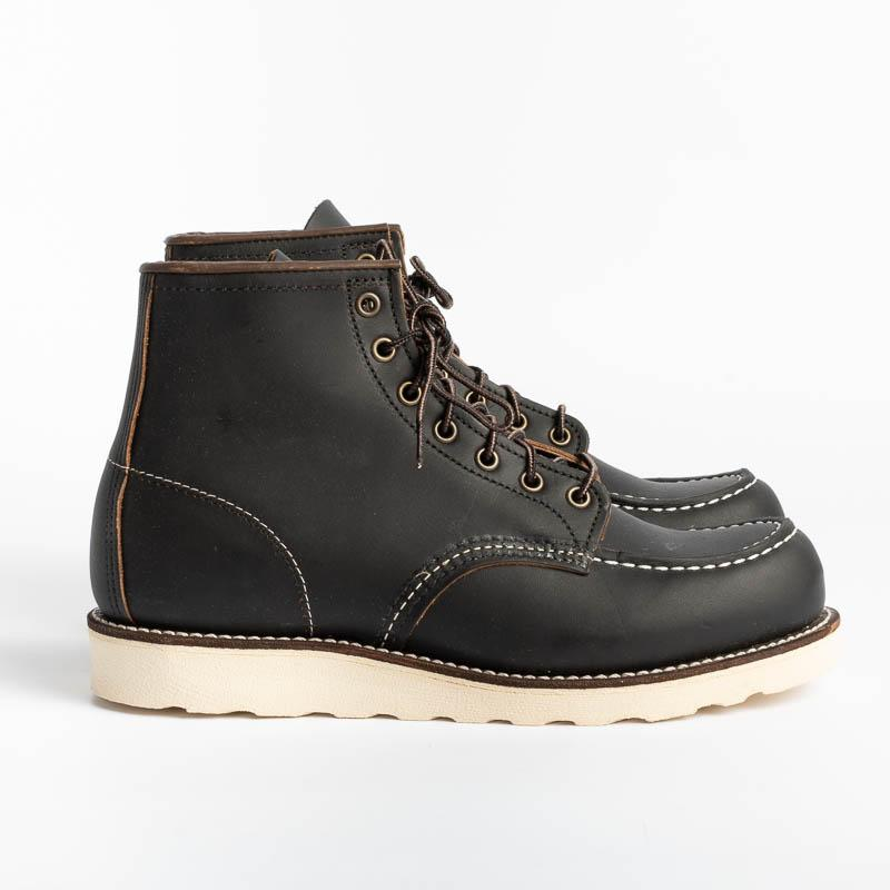 RED WING - Moc Toe 08849 - Black Shoes Man Red Wing Shoes