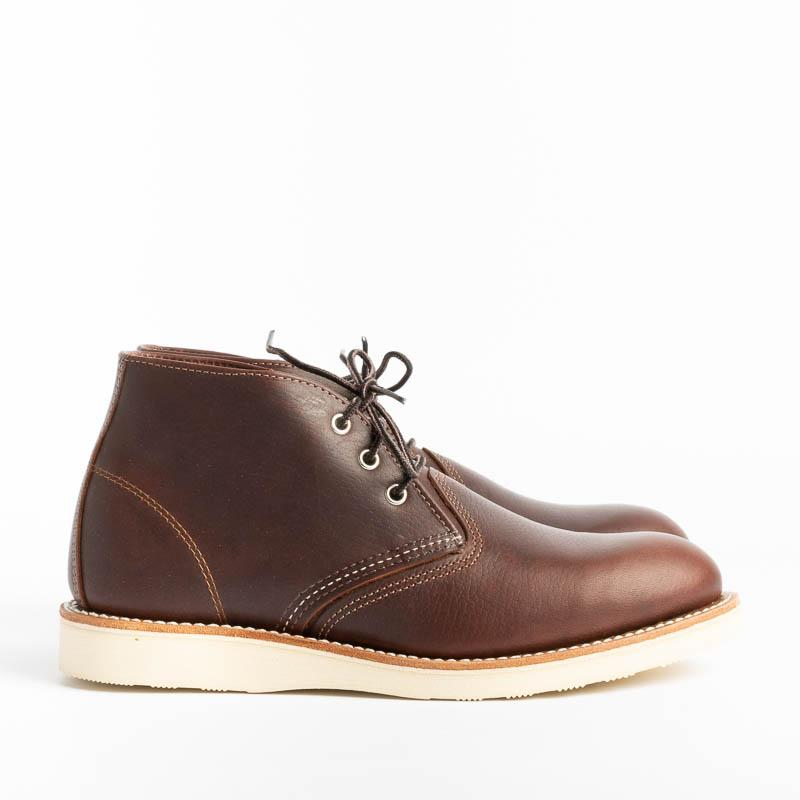 RED WING - Polacco Men's Chukka 3141 - Briar Oil Scarpe Uomo Red Wing Shoes