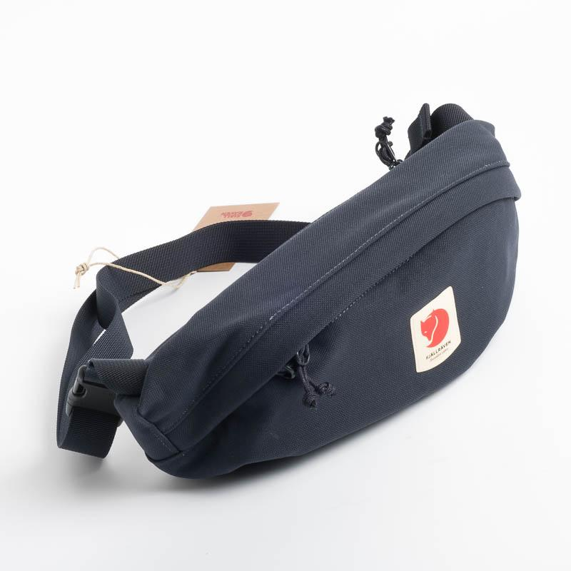 FJÄLLRÄVEN - Belt bag 23165 Ulvo Hip Pack Medium - 555 Dark Navy Fjallraven backpack