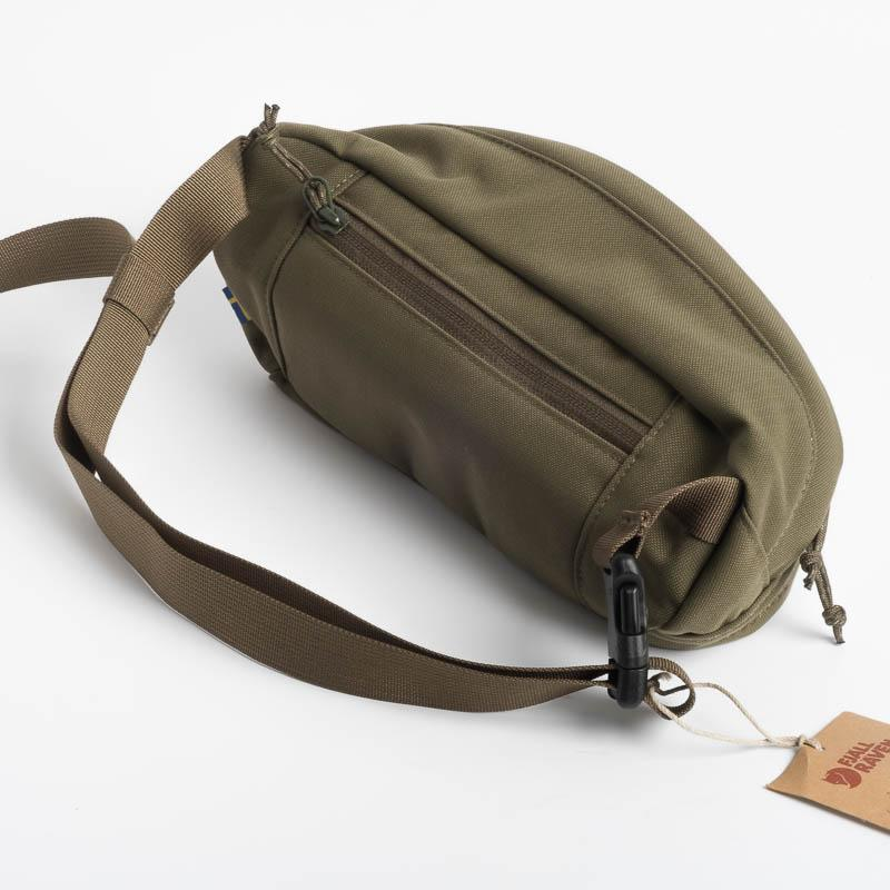 FJÄLLRÄVEN - Pouch 23165 Ulvo Hip Pack Medium - 625 Green Backpack Fjallraven