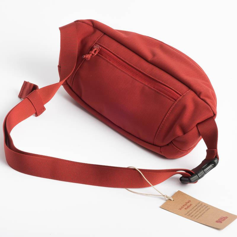 FJÄLLRÄVEN - Pouch 23165 Ulvo Hip Pack Medium - 344 Dark Lava Backpack Fjallraven