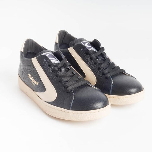 VALSPORT - Tournament Sneakers - Black Deer Cream VALSPORT 1920 Women's Shoes
