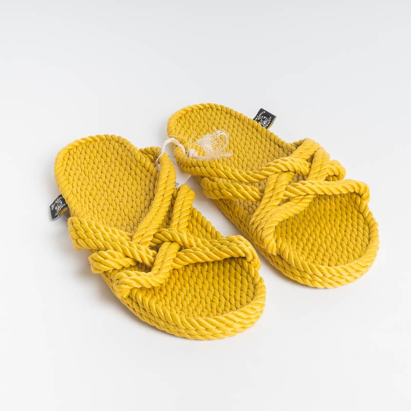 NOMADIC STATE OF MIND - Sandals - SLIP ON GOLD Women's Shoes NOMADIC STATE OF MIND