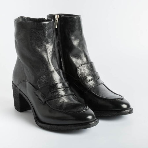 OFFICINE CREATIVE - Ankle Boots - Sarah 026 - Ignis Black Women's Shoes OFFICINE CREATIVE - Women's Collection