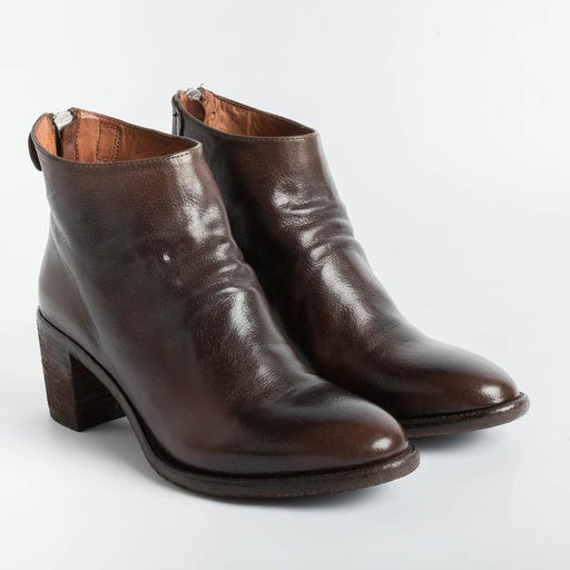OFFICINE CREATIVE - Ankle boots - Sarah Rubbof 001 - Ignis Bruno Women's Shoes OFFICINE CREATIVE - Women's Collection