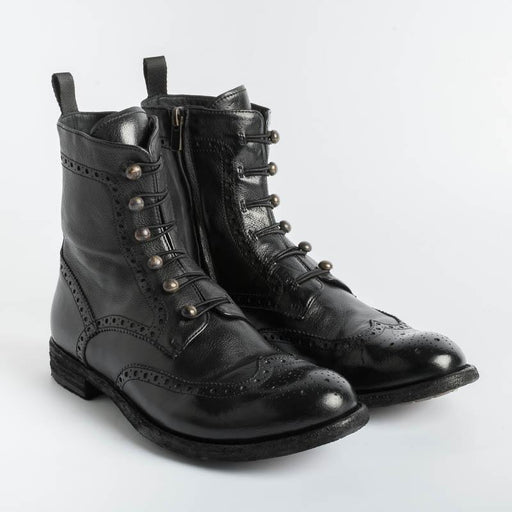 OFFICINE CREATIVE - Ankle boot - Lexikon 131 - Ignis Black Woman Shoes OFFICINE CREATIVE - Woman Collection