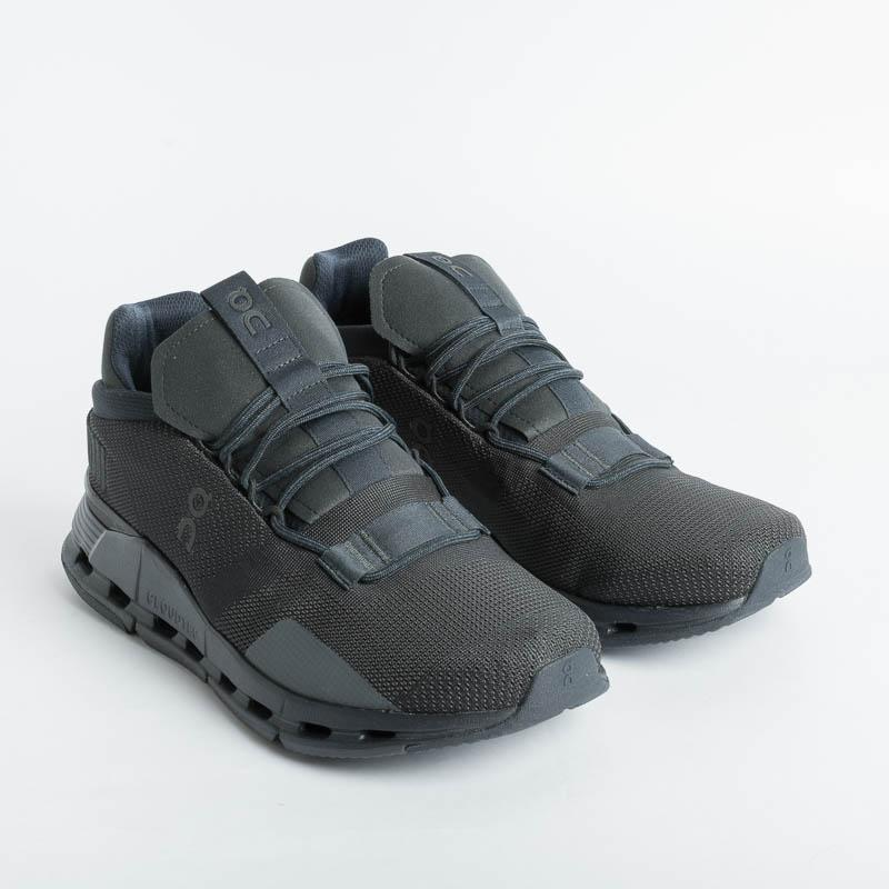 ON RUNNING - Cloudnova - Black Eclipse Men's Shoes ON - Men's Collection