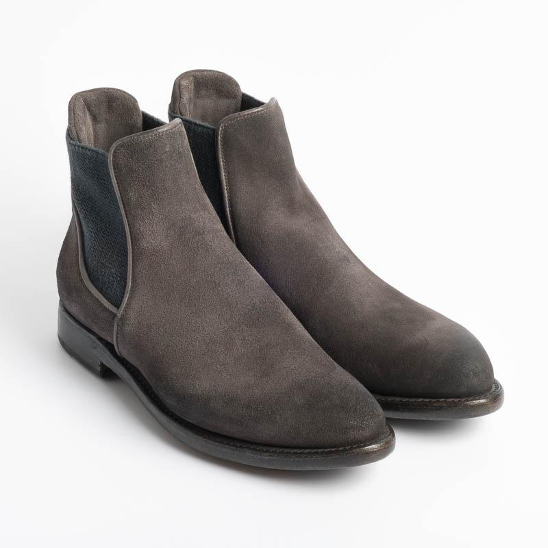 SILVANO SASSETTI - Beatles - 4049 - Suede Blackboard Shoes Woman Silvano Sassetti