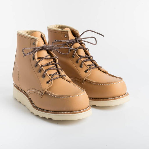 RED WING - 3383 Moc Toe - Tan Shoes Woman Red Wing Shoes
