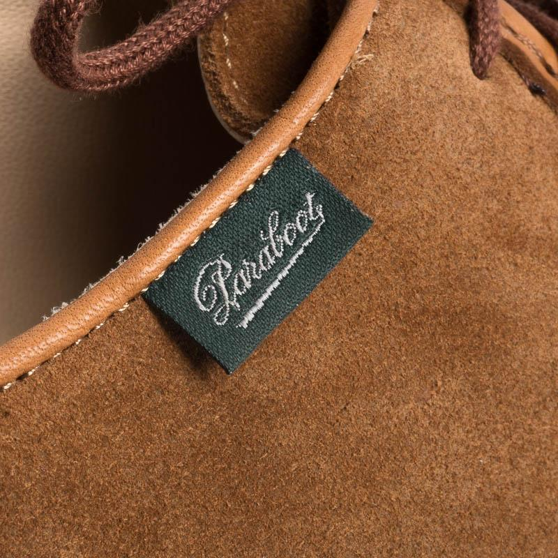 PARABOOT - LIMITED EDITION- 184737- MICHAEL / MARCHE NOIX- VEL WHISKEY Women's Shoes Paraboot