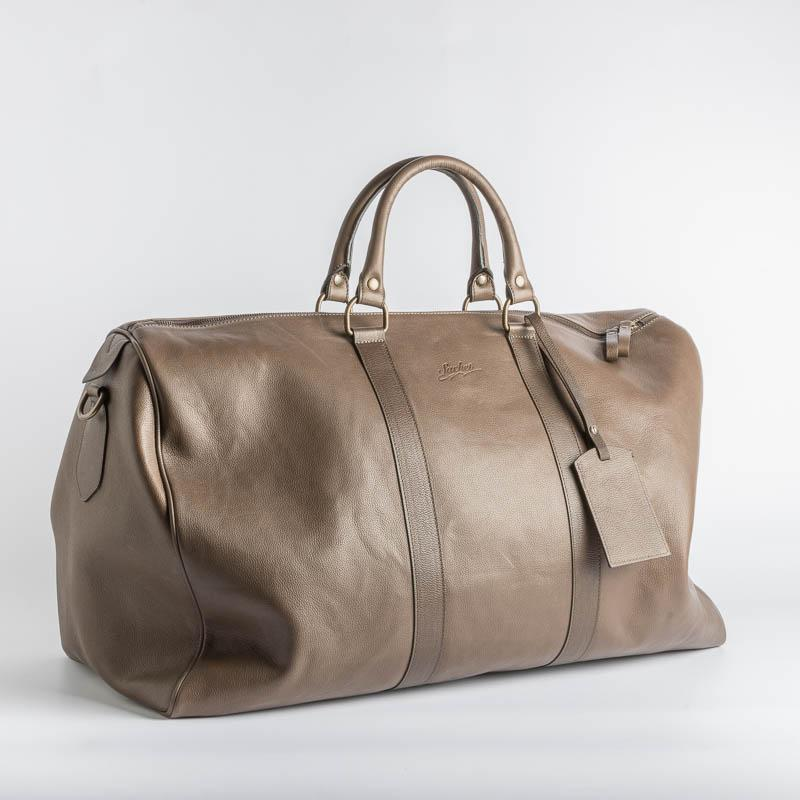 SACHET - Travel Bag - 3048 -Leather - Various Colors Bags SACHET CHESTNUT HAMMERED LEATHER