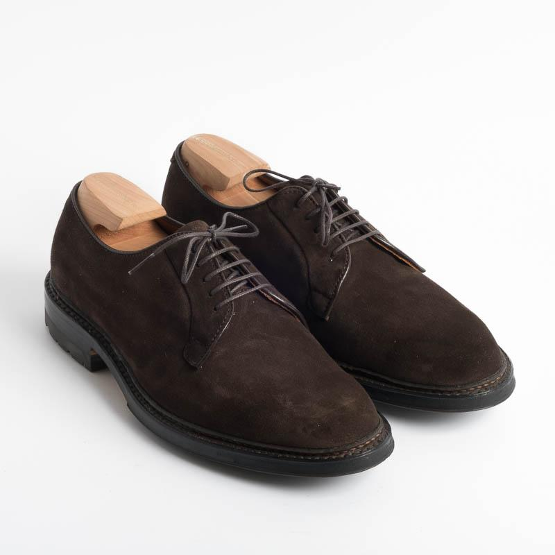 ALDEN - M5402C - Cordovan Camoscio T.Moro - Call to buy Alden Men's Shoes