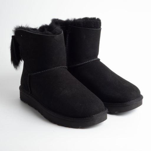 UGG - AI 2018/19 - Fluff Bow Mini - 1094967w - black Scarpe Donna Ugg