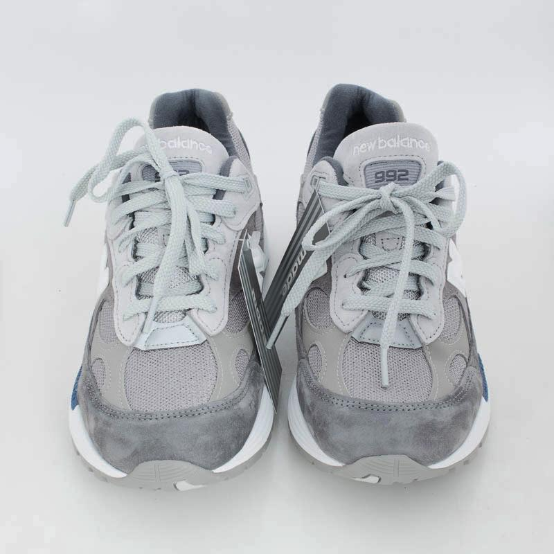 NEW BALANCE - Sneakers 992 AG - Gray Men's Shoes NEW BALANCE - Men's Collection