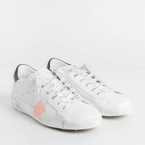 PHILIPPE MODEL - PRLD JV01 - ParisX Sneakers - White Pink Shoes Woman Philippe Model Paris