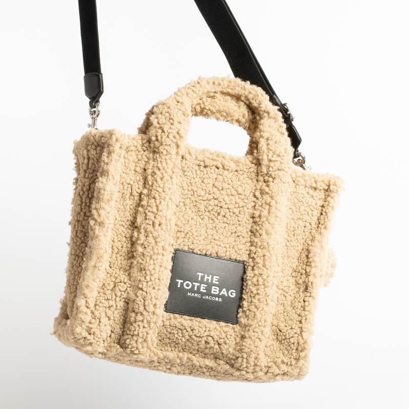 MARC JACOBS - 16740 - The Teddy Tote Bag - Beige Bags Marc Jacobs