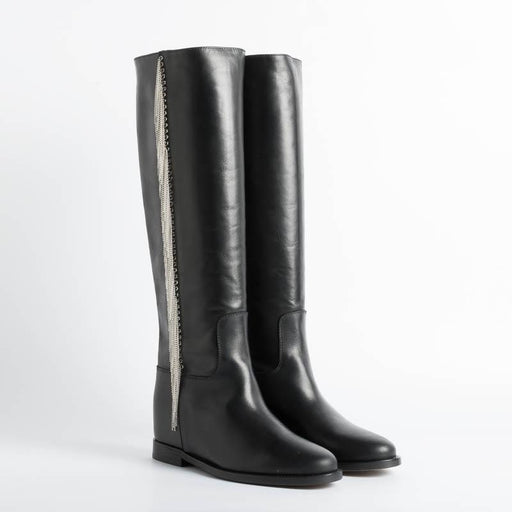 VIA ROMA 15 - Boots 3540 - Black Malibù Women's Shoes Via Roma 15