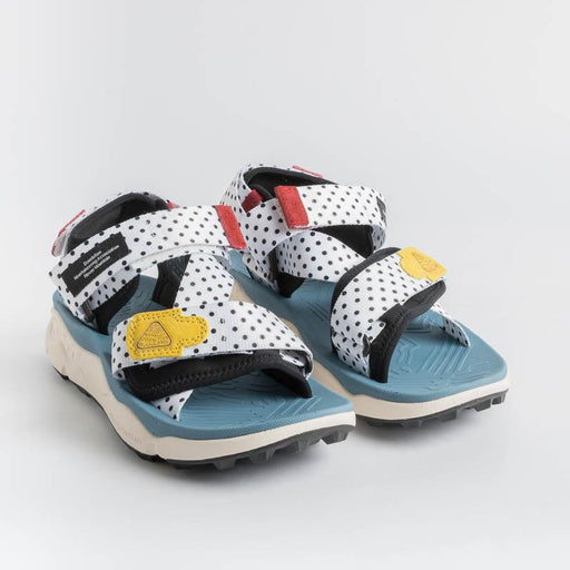 FLOWER MOUNTAIN - NAZCA Sandal - White Pois Shoes Woman FLOWER MOUNTAIN