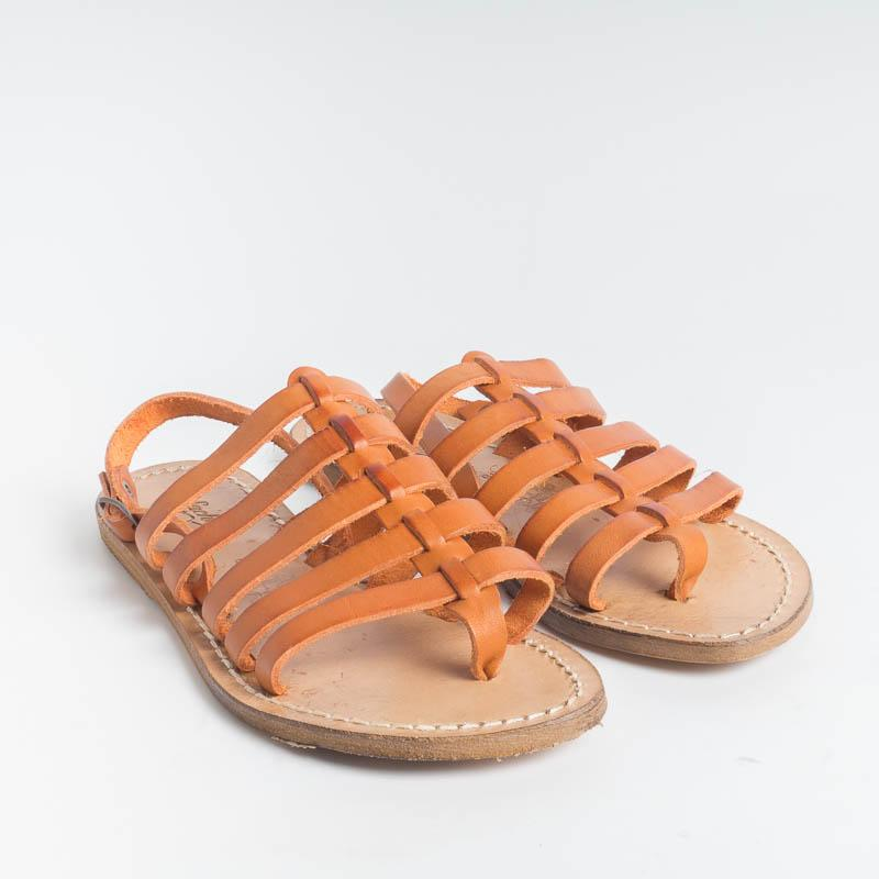 SACHET - Freetime Flip Flop Sandals - 576 - Orange Women's Shoes SACHET - Footwear