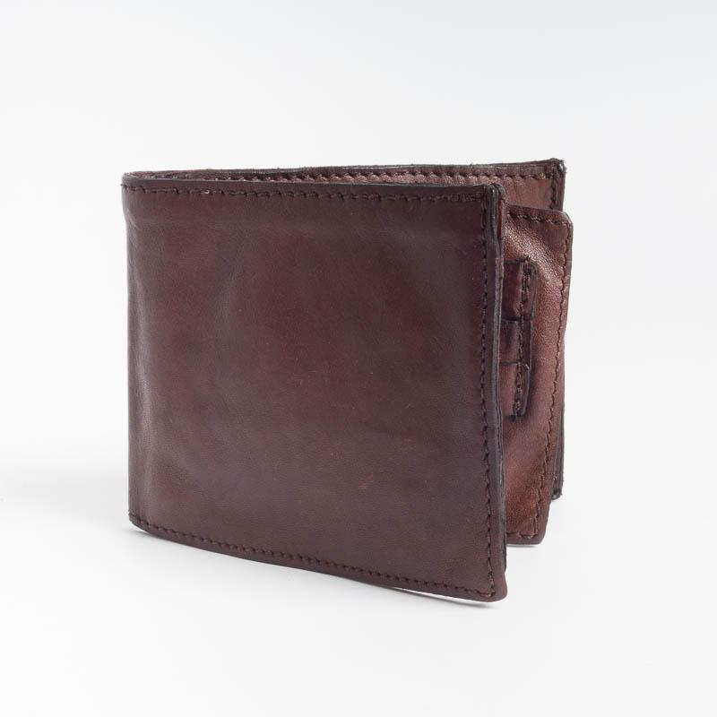 CAMPOMAGGI - 14530 - Men's Wallets - Dark Brown and Black Men's Accessories Campomaggi MORO