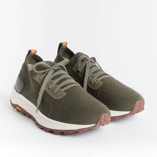 HENDERSON - Sneakers - Ares - Olive Men's Shoes HENDERSON
