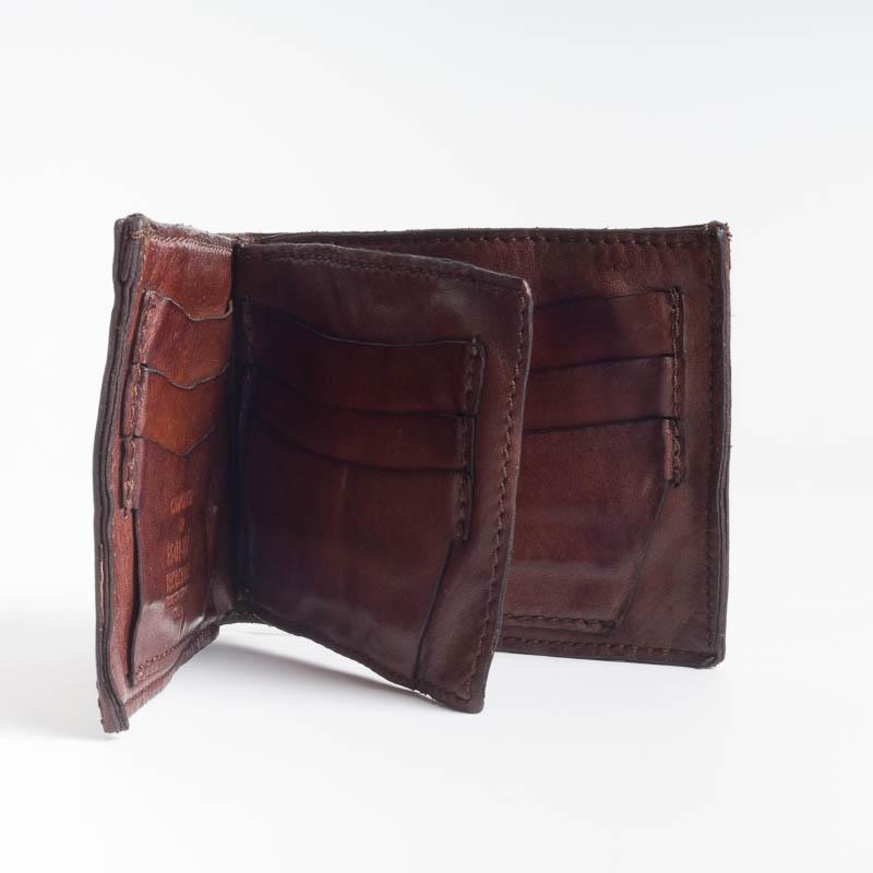 CAMPOMAGGI - 14530 - Men's Wallets - Dark Brown and Black Men's Accessories Campomaggi
